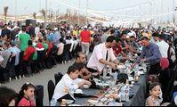 В Египте накрыли самый длинный рамаданный стол на 7 тыс. человек