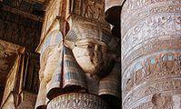 Польские археологи обнаружили у храма Хатхор в Египте неизвестные надписи