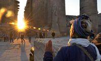В Египте 21.12 в День зимнего солнцестояния ожидают наплыв туристов в Храм Карнака