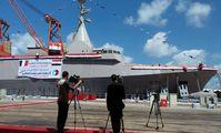 """В Египте спустили на воду первый корвет """"Говинд-2500"""" собственной постройки"""