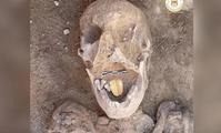 В Египте нашли мумию с золотым языком