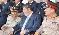 Мухаммед Морси и Хуссейн Тантауи