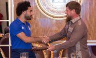 Кадыров присвоил нападающему сборной Египта Салаху звание почётного гражданина Чечни