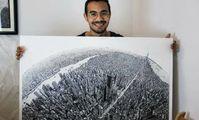 Египетский студент многие месяцы рисовал удивительную карту Нью-Йорка обычной ручкой