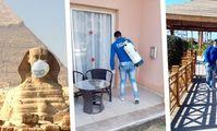В Хургаде производится тотальная санация отелей от коронавируса.