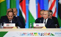 Президент Египта пригласил Путина на форум по вопросам мира