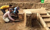 Археологи нашли под Каиром зал торжеств Рамзеса II