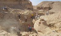 В Египте обнаружили сфинкс с бараньей головой