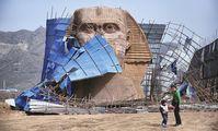Египет и Китай поспорили из-за Сфинкса