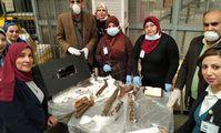 Неизвестные пытались отправить по почте из Каира древнеегипетские мумии