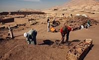 В Луксоре обнаружен макет сада, которому 4.000 лет