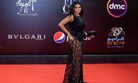 Египетской актрисе пригрозили тюрьмой за слишком прозрачное платье