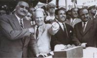 Хрущев Н.С. в Египте на открытии Асуанской ГЭС