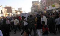 Обстановка в Хургаде, Египте, Хургаде. 2.02.2011