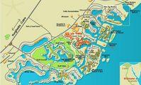 Карта отелей Эль Гуны