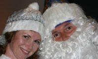 Дед Мороз и Снегурочка в Хургаде