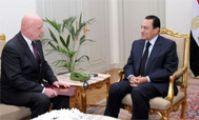 Александр Солтанов и Мубарак