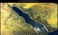 Красное море, фотографии из космоса