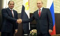 Путин и президент Египта договорились о контактах на различных уровнях