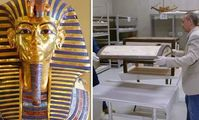 Египтологи впервые заглянули в таинственный сундук Тутанхамона