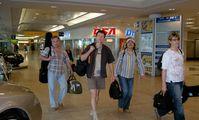 Возвращение туристов