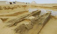 Раскопки в египетском городке Дахшур