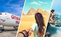Авиакомпания Анекса начала полёты в Хургаду и Шарм-эль-Шейх: опубликована география вылетов