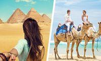 Погода в Египте: ветрено, на пляжах Красного моря волны