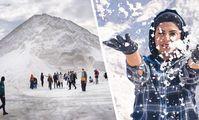 Нереальные «снежные» горы Египта стали туристическим хитом