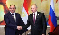 Президенты России и Египта обсудили развитие ситуации в Сирии