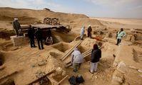 Гробницу времен Александра Македонского обнаружили в Египте