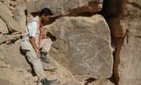 Наскальные рисунки в Египте