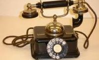Старинный телефон