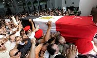 Омар Сулейман, похороны