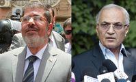 Мухаммед Мурси и Ахмед Шафик