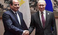 Путин подписал закон о ратификации договора РФ и Египта о стратегическом сотрудничестве