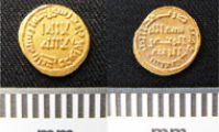 В Египте найдена золотая куфическая монета 721 г. н.э.