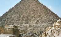 Пирамида Микерина в Гизе, Египет
