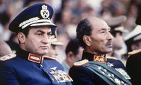 Хосни Мубарак и Анвар Саддат