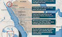 Саудовская Аравия привлечет туристов новым «городом будущего» на Красном море