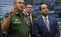 Министр обороны РФ Сергей Шойгу прибыл в Египет