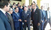 Президент Египта Абдель Фаттах ас-Сиси посетил Хургаду