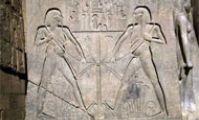 Союз Верхнего и Нижнего Египта - Символы Древнего Египта