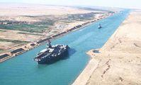 Суэцкий канал обновил рекорд по числу и тоннажу прошедших через его русло кораблей за день