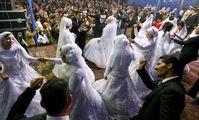 В Египте сыграли свадьбу 10-летняя невеста и 12-летний жених