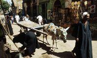 Восточный базар в Луксоре