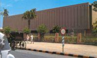 Здание исторического музея в Лускоре, набережная, Нил. Египет